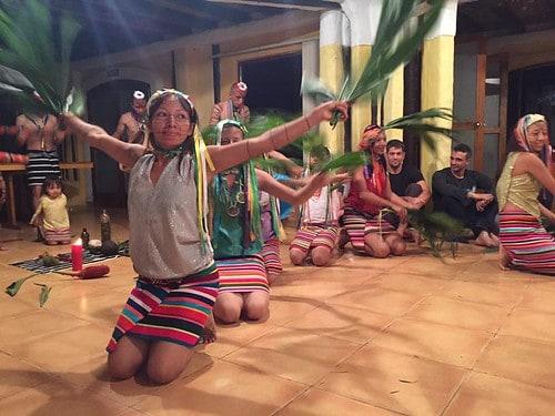 Ecuador 2016 - Shaman Ceremony (photo by Mary Wood)