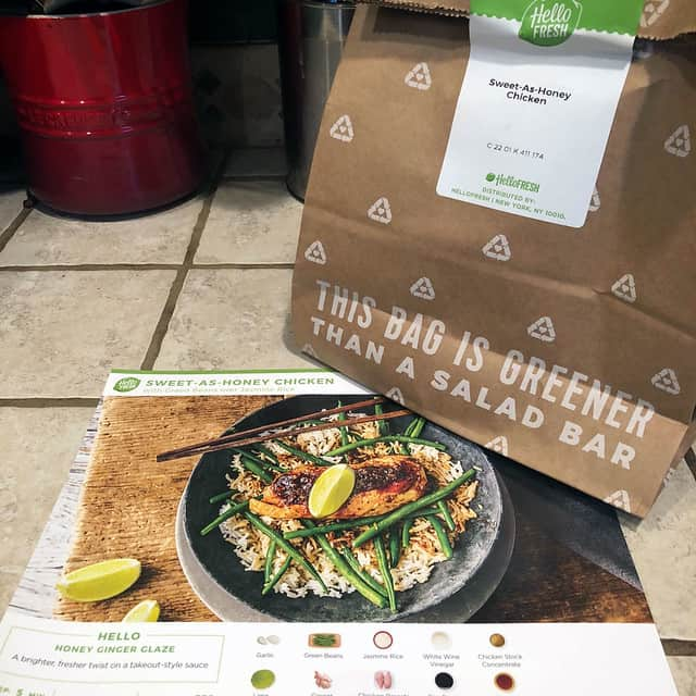 Hellofresh  Meal Kit Delivery Service Box Photo