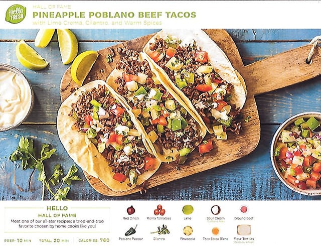 Meal Kit Delivery Service Hellofresh Coupon Stackable April